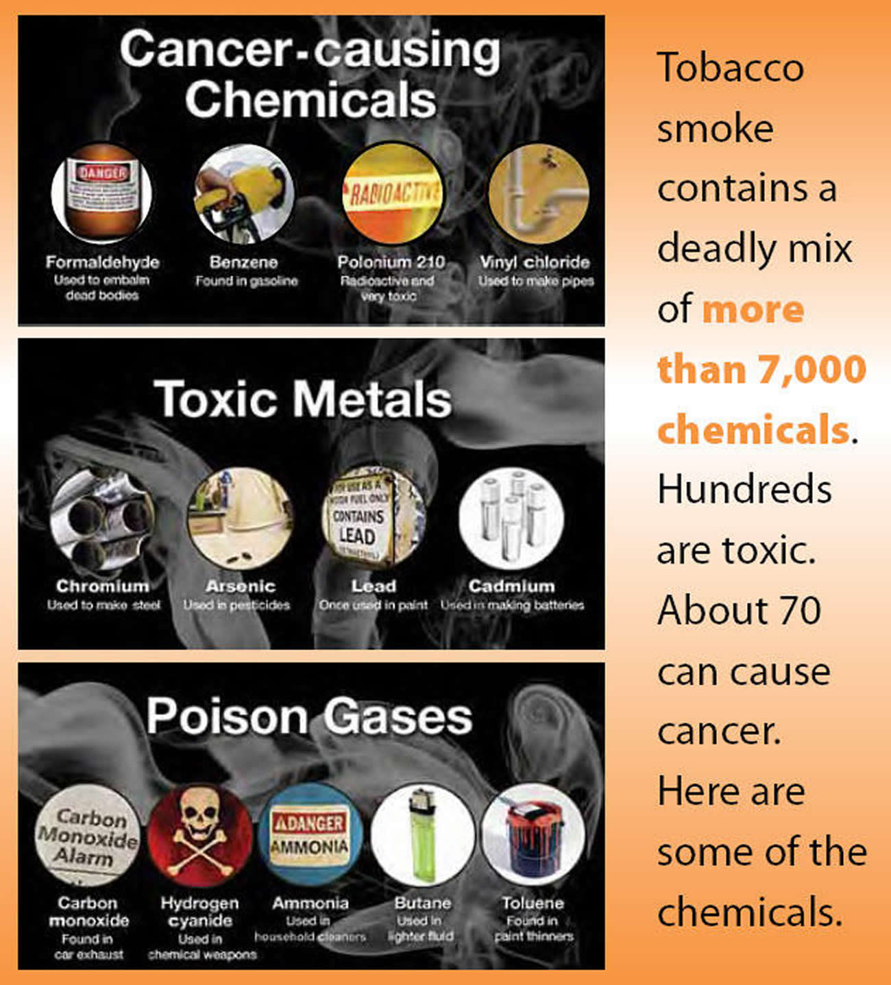the hazardous ingredients in a tobacco cigarette Clove cigarettes may have less tobacco in each cigarette, but they should not be considered safe, by any means cloves also contain an active ingredient that traditional cigarettes don't contain - eugenol this is a phenylpropene that is a part of clove oil, and when used topically or internally, it can.